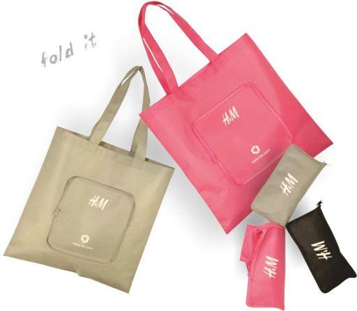 Rieten Tas Bedrukken : H m opvouwtasje tas bedrukken met logo tassen